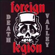 Foreign Legion ‎– Death Valley CD
