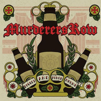 Murderers Row ‎– Pissed And Punch Drunk CD