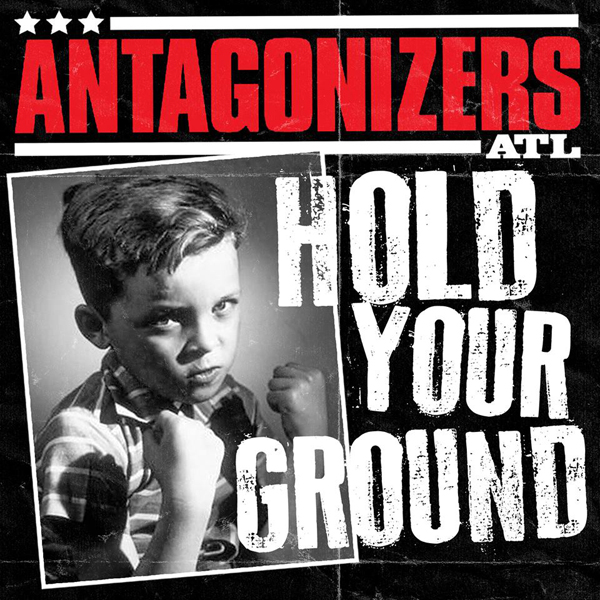 "Antagonizers ATL ‎– Hold Your Ground 7""EP (Èervený/Red)"