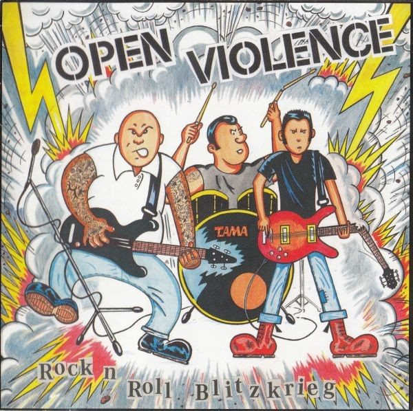 Open Violence - Rock 'N' Roll Blitzkrieg CD