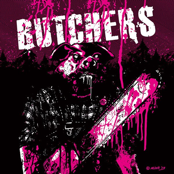 "The Butchers - Learnin' The Ropes 7"" EP (White)"
