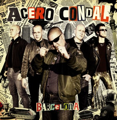 "Acero Condal ‎? Barcelona 10"" (Red)"
