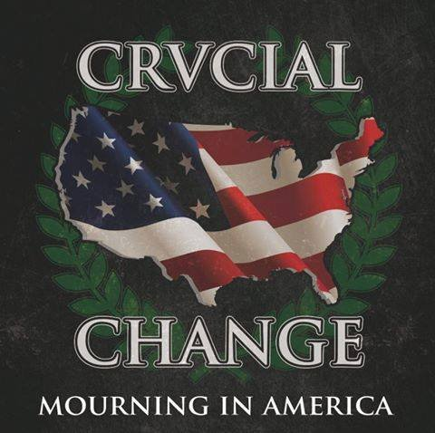 "Crucial Change ‎– Mourning In America 12"" EP (Black)"