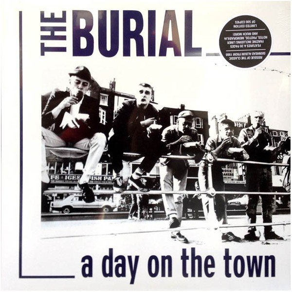 "The Burial ‎– A Day On The Town 12"" LP (Black)"