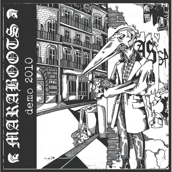 "Maraboots ‎– Demo 2010 10"" (Black)"
