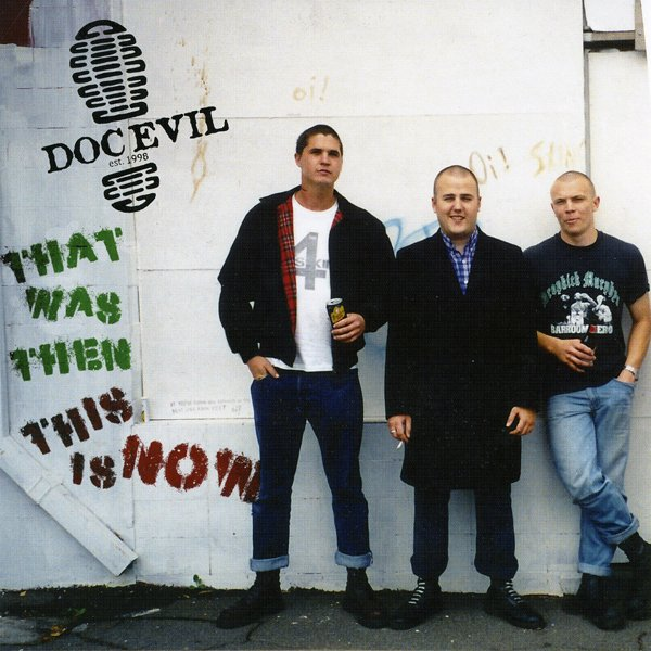"Doc Evil ‎– That Was Then This Is Now 7"" EP (Black)"