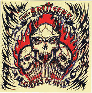 "The Bruisers ‎– Gates Of Hell 7""EP (černý)"