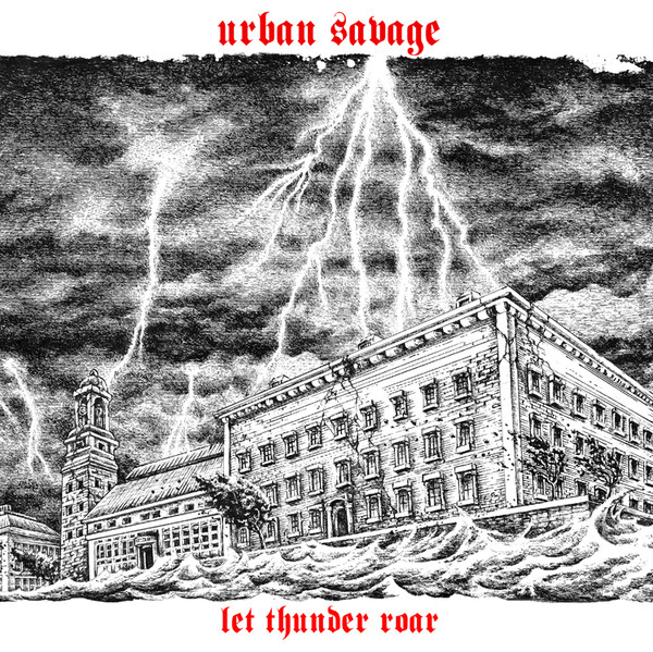 "Urban Savage - Let Thunder Roar 12""LP (VG+/NM)"