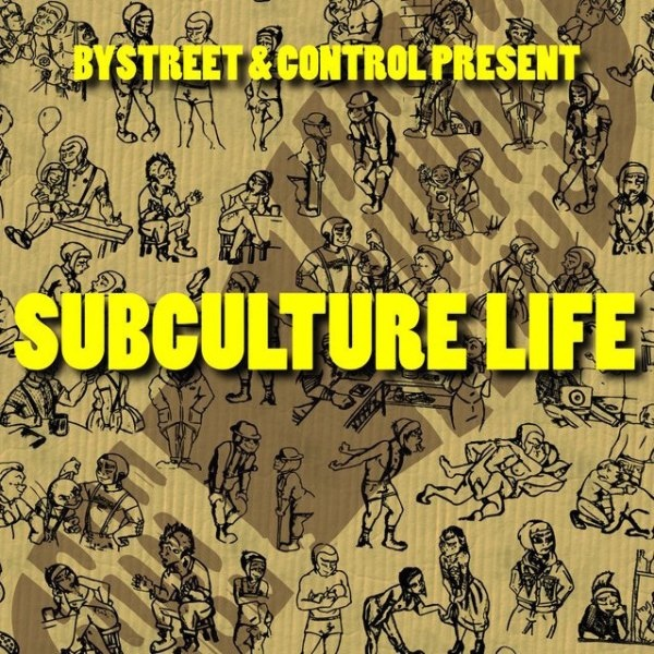 "Bystreet / Control – Subculture Life 7"" EP (Black)"