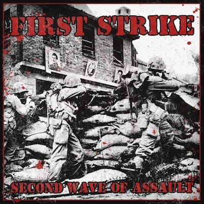 "First Strike ‎– Second Wave Of Assault 12"" LP (Red)"