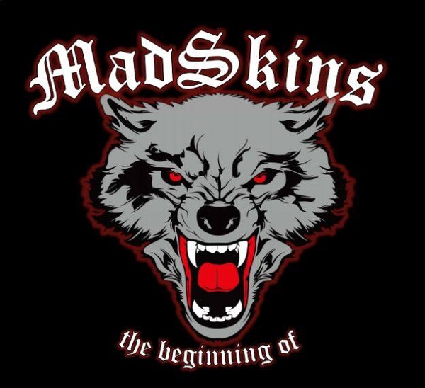 "MadSkins - The beginning of 12"" LP (lim. 100, red)"
