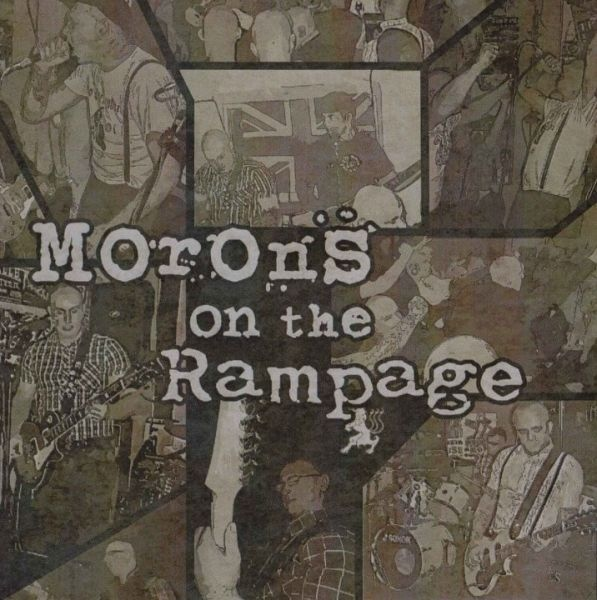 Rampage/The Morons ? Morons On The Rampage Split LP (Black)