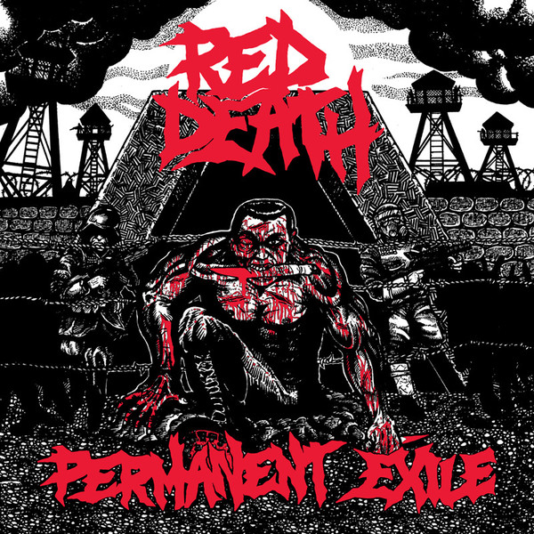 "Red Death - Permanent Exile 12""LP (M/NM)"