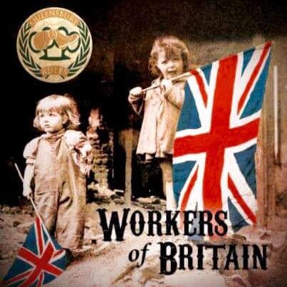 "Queensbury Rules – Workers of Britain 7"" EP (Black)"