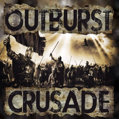 "Outburst – Crusade 7"" EP (mellow yellow)"