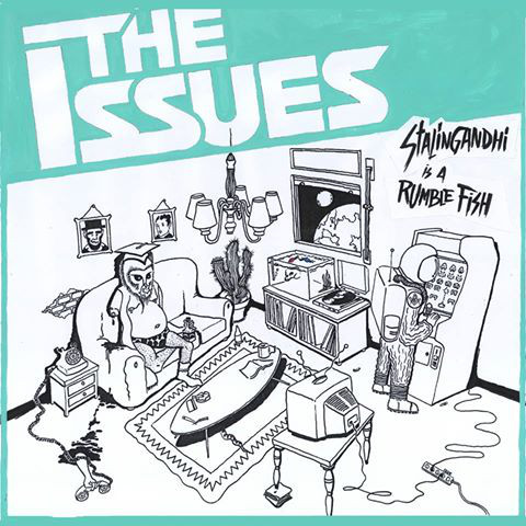 "The Issues – Stalingandhi is a Rumble Fish 12""LP (Black)"