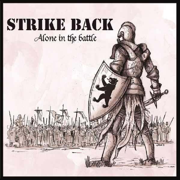 "Strike Back - Alone In The Battle 12"" MLP (Red/White Splatter)"