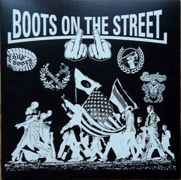 "V/A - Boots On The Street 2 12""LP (Turquoise)"