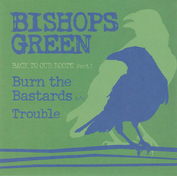 "Bishops Green ‎? Back To Our Roots Part 1 7""EP (Green Tran"