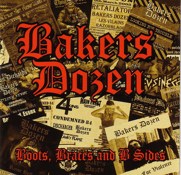 "Bakers Dozen ‎– Boots, Braces And B Sides 2x 12""LP"