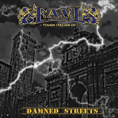 "F.A.V.L. - Damned Streets 7"" EP (bronzový/bronze)"