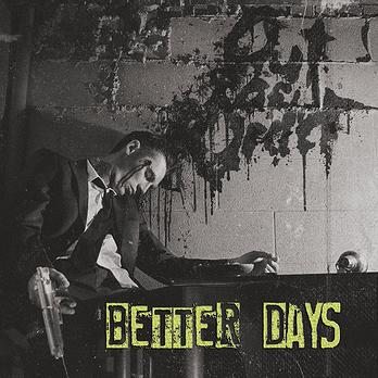 Out Of Order - Better Days LP (blue vinyl with white splatter)