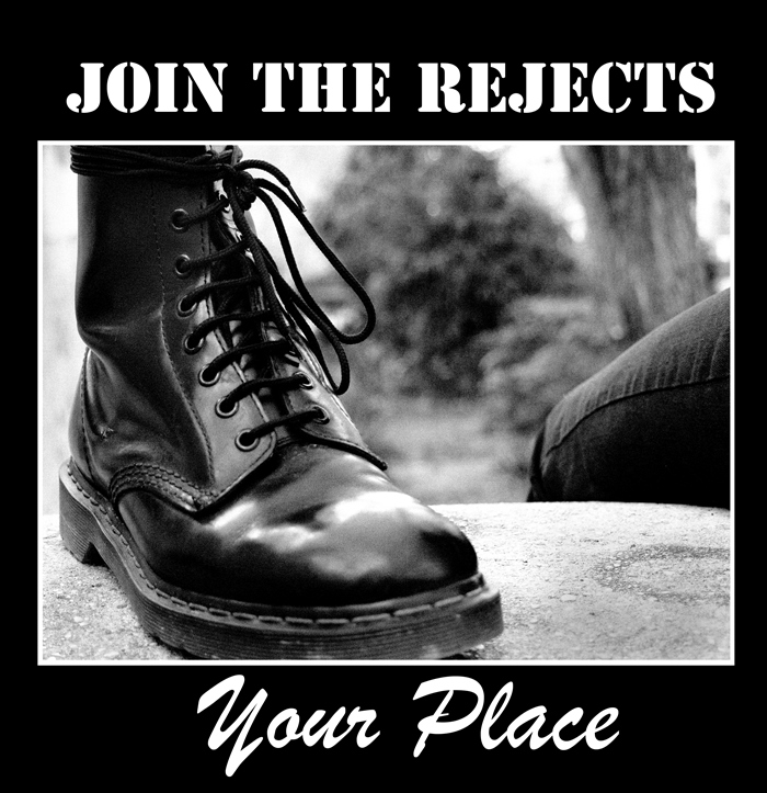 "Join The Rejects - Your Place 12"" (Black, 180-200g vinyl)"