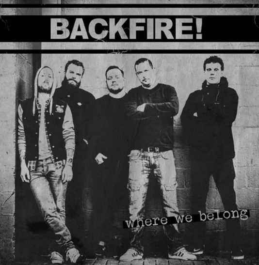 "Backfire! - Where we belong 12"" (Bone)"