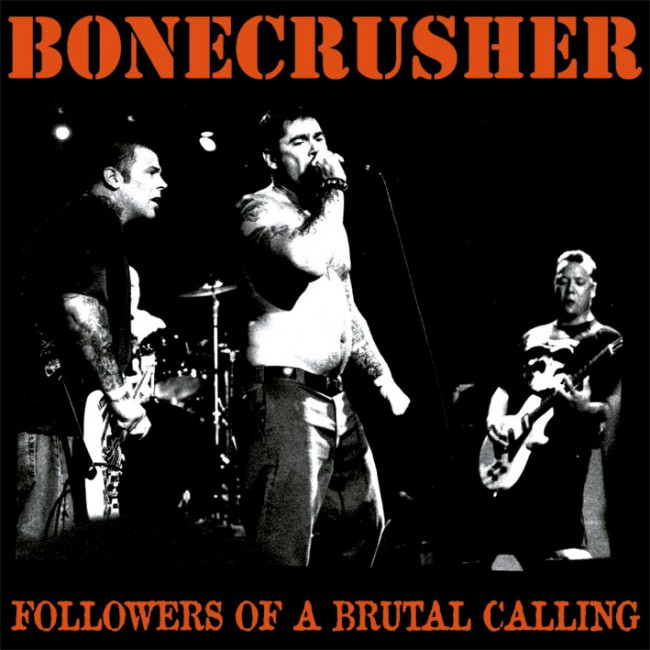 Bonecrusher - Followers of a brutal calling LP (RP)(blood red)