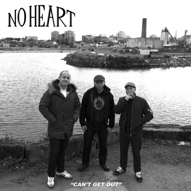 "No Heart - Can't get out 12""LP (clear)"