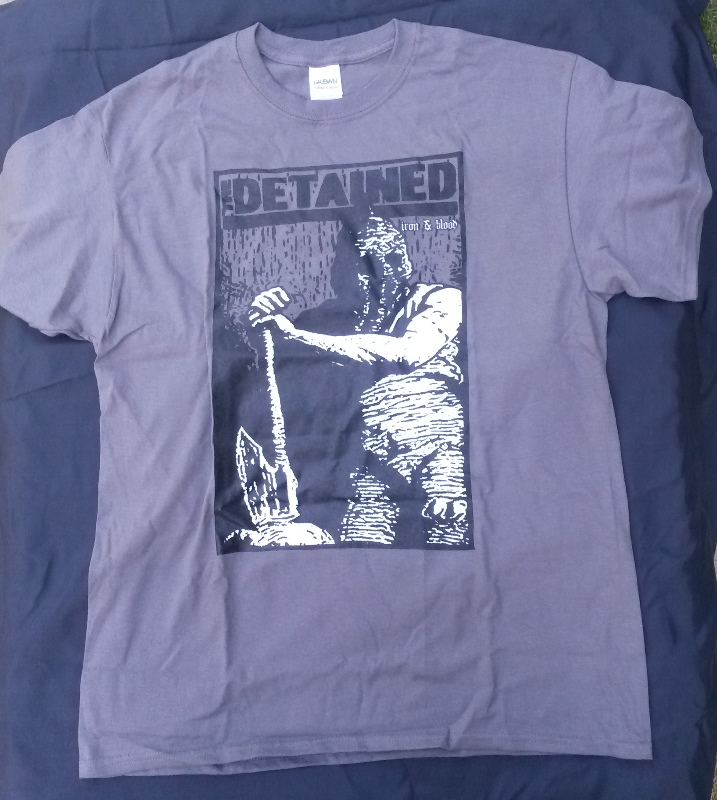 T-shirt The Detained size L grey