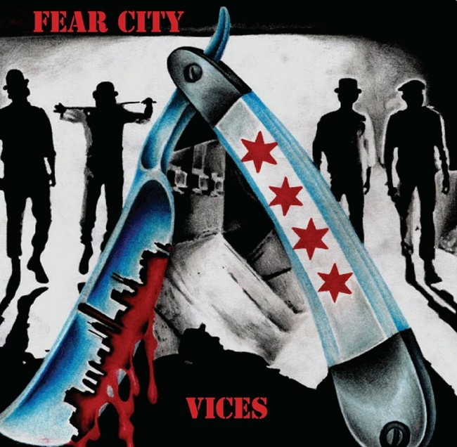 "Fear City - Vices 7""EP (modrý)"