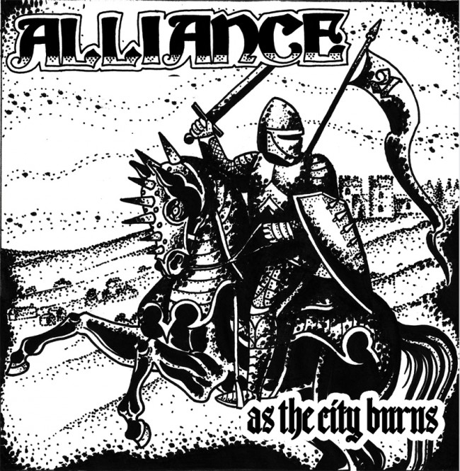 "Alliance - As the city burns 7"" EP"