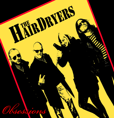 "The Hairdryers - Obessions 10"" (?erný/Black)"