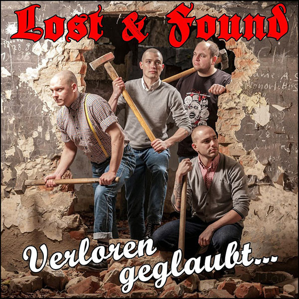 "Lost & Found – Verloren geglaubt... 12"" LP (Black)"