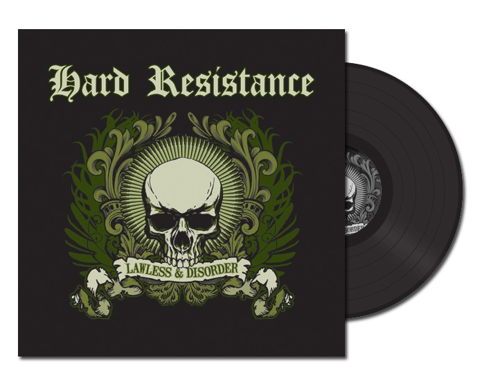 "Hard Resistance - Lawless & Disorder 12"" LP (Black)"