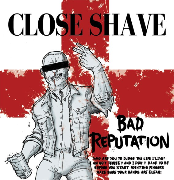 "Close Shave - Bad reputation 12"" LP (black)"