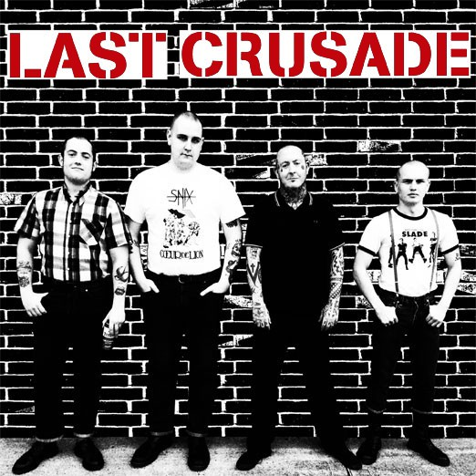 "Last Crusade - s/t 7"" EP 3RD PRESS"