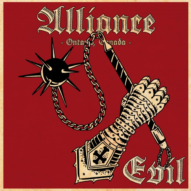 "Alliance - Evil 12"" LP (black)"