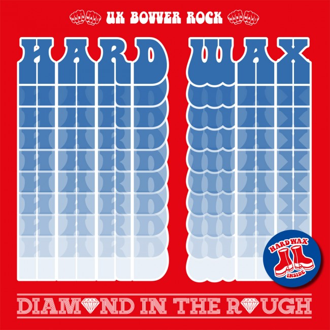 "Hard Wax - Diamond in the rough 12""LP (červený)"