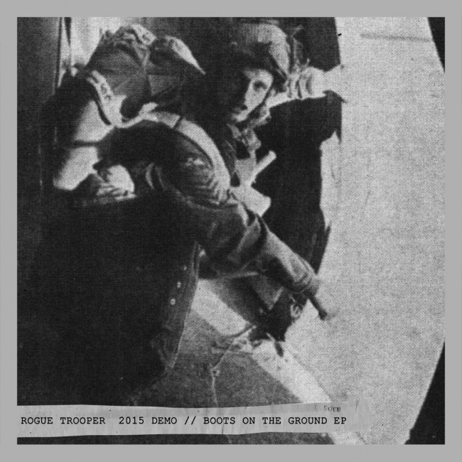 "Rogue Trooper - Boots On The Ground EP///DEMO 2015 12""LP(clear)"