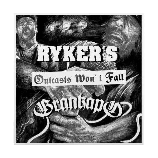 Ryker's, Grankapo ‎– Outcasts Won´t Fall 7""