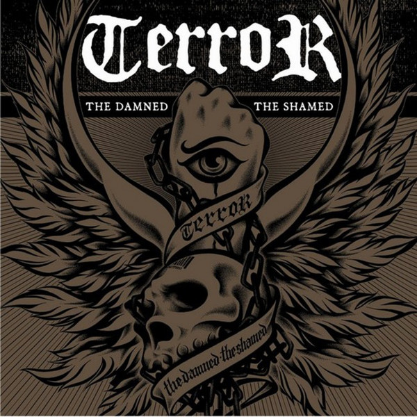 Terror ? The Damned, The Shamed 12″LP (?erný)