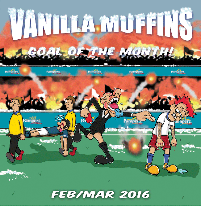 "Vanilla Muffins - Goal of the month Febr/März 2016 7"" (Black)"
