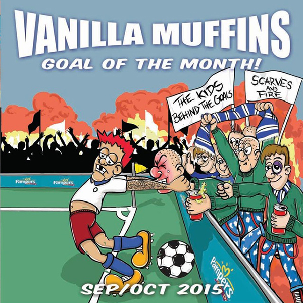 "Vanilla Muffins - Goal of the month Sept/Okt 2015 7"" (Green)"