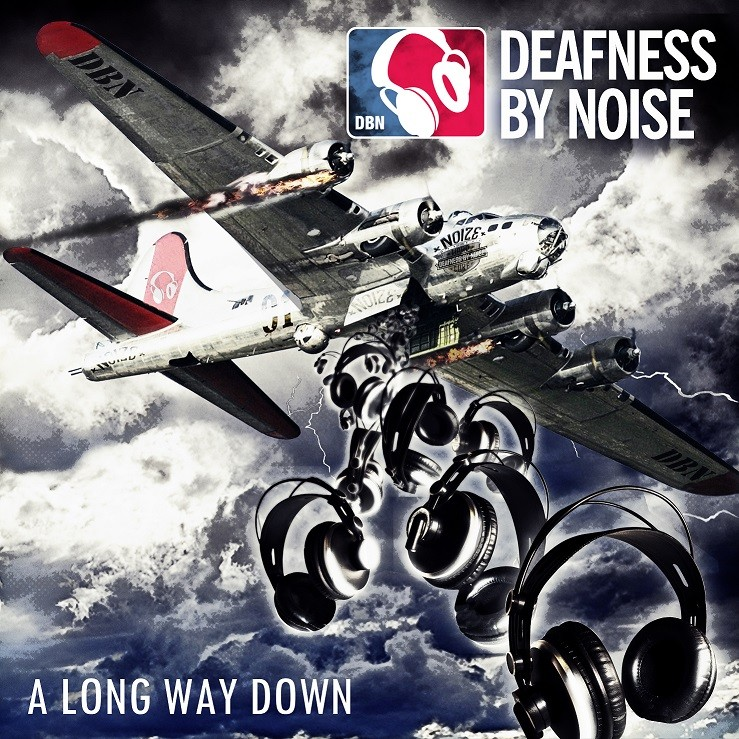 "Deafness By Noise - A long way down 12"" LP (?erný/black)"