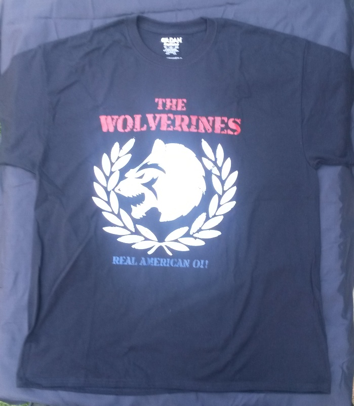 T.shirt The Wolverines size XL black